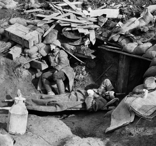 Élet és halál a lövészárokban – Nagyítás-fotógaléria