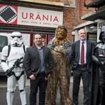 Csubakkával fotózkodott Pécs polgármestere