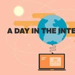 Extrém látvány az internet egy napja! [infografika]