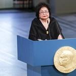 Átvette a Nobel-békedíjat a Hirosima-túlélő