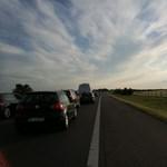 Négy autó ütközött az M3-ason, nagy a dugó
