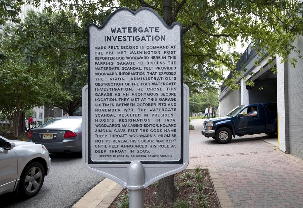 2011.08.19. - D32 - a parkolóház, melyben a Watergate-botrány részleteit tárta fel a 'Mély toroknak' becézet informátor Bob Woodward és Carl Bernstein újságíróknak - Nixonnagyitas
