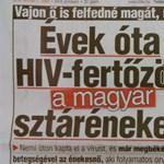 Tehetségkutatóban is énekelt az állítólag HIV-pozitív magyar sztár