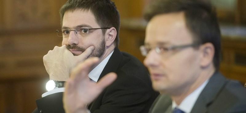 Fejvesztettség és félelem van a magyar külügyben egy belső levél szerint