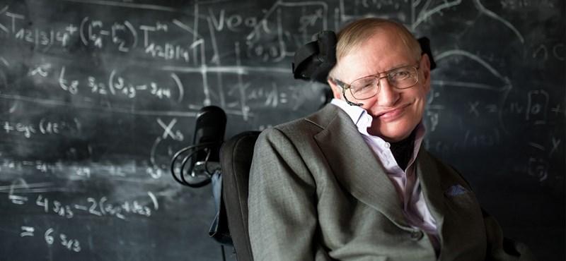 Vangelis zenéjére sugározzák pénteken az űrbe Stephen Hawking békeüzenetét