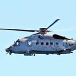A Földközi-tengerbe zuhant egy kanadai helikopter