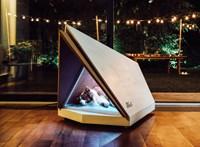 A Ford megcsinálta a kutyaházat, amely a szilveszteri petárdázáskor is védelmet nyújt kedvencének