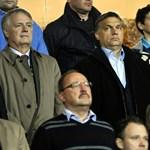 Fotó: Orbán, Csányi és Polt a díszpáholyban