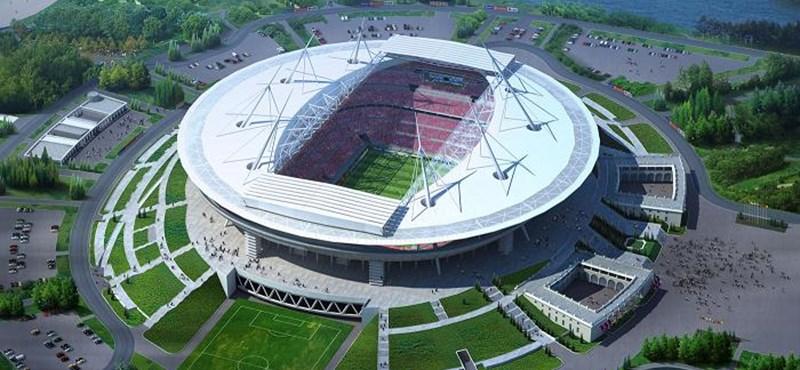 Ilyen lesz a Zenit focicsapat új 62 ezres stadionja (látványtervekkel)