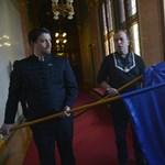 Újra nekiesett az uniós zászlónak Gaudi-Nagy Tamás - fotók