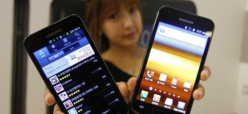 Tízmillió Galaxy S II-t adtak el