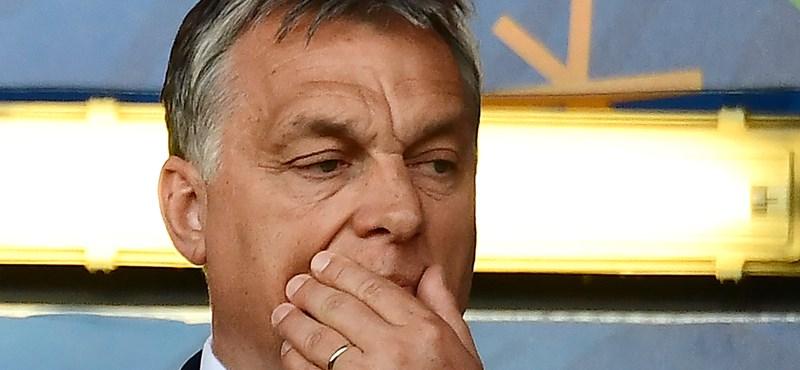 Orbán reagált a vereségre