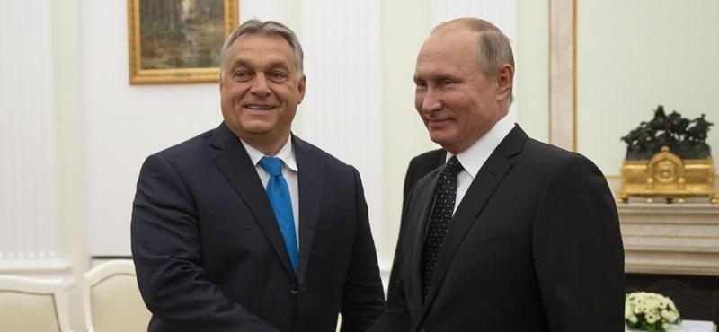Putyin lelkesedett kicsit a magyar kapcsolatért, de semmi részletet nem árult el