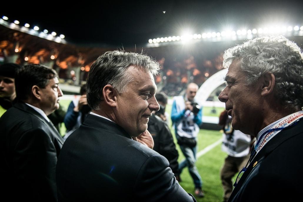 SA, Panco Aréna, Orbán Viktor