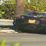 Így kell kukára törni egy Lamborghini Aventadort - fotók