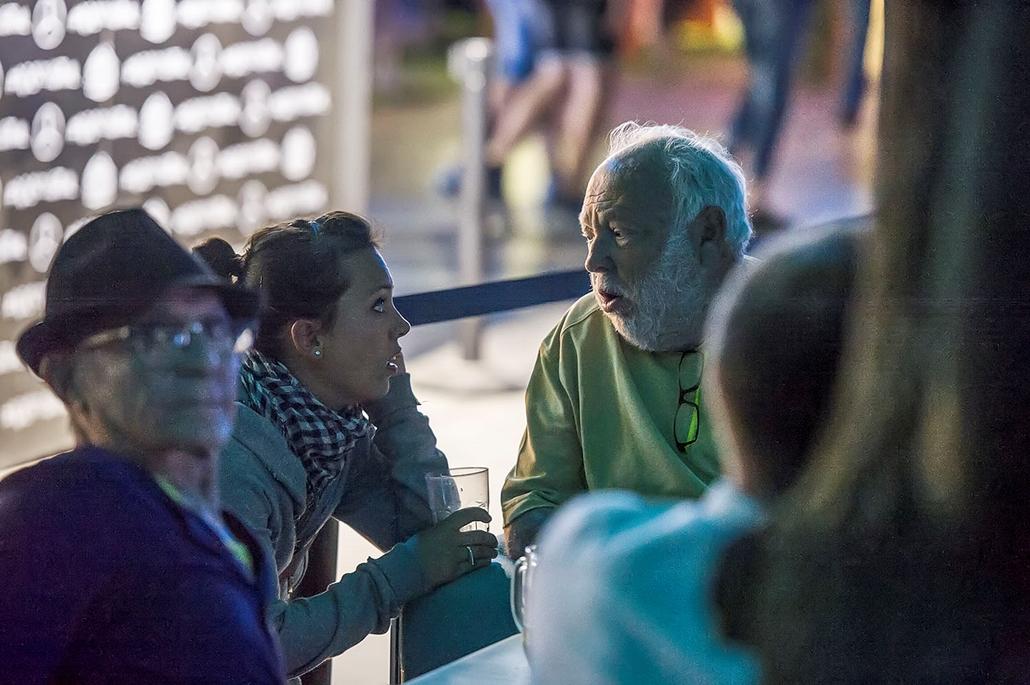 tg.17.08.13. Sziget VIP / Orbán Ráhel és Andy Vajna Sziget Fesztivál 2017. Fotó: Túry Gergely