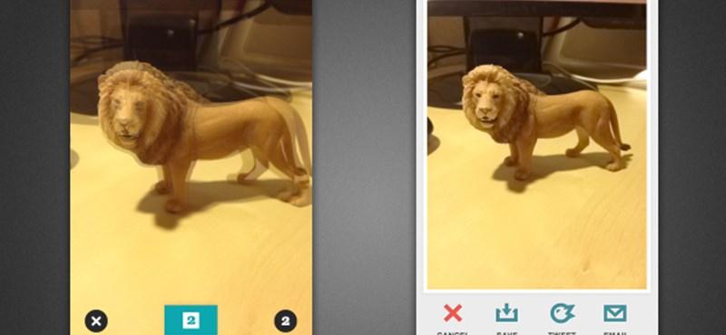 Így készíthetünk különleges 3D fotókat az iPhone-nal, ingyen!