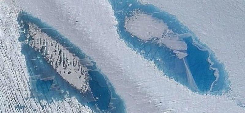 65 000-nél is több tavat találtak az Antarktiszon, és ez nagyon nagy baj