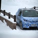 Fotók: rajtakaptuk az elektromos BMW-t