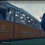Budapesten forgatták a foci vébé himnuszát