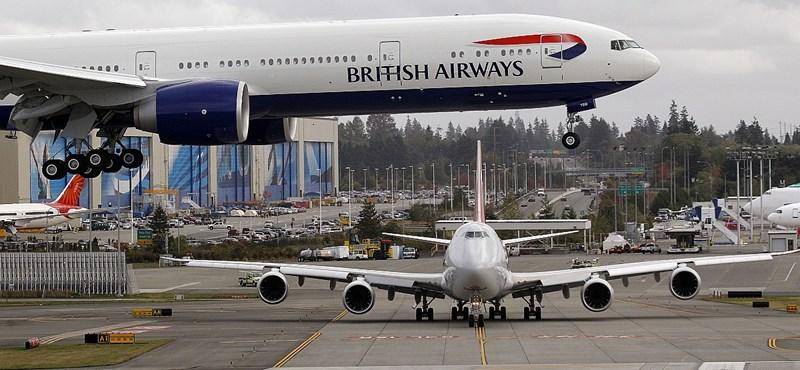 British Airways: minden londoni járatot töröltek