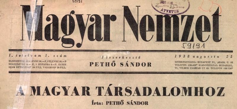 Lapzárta: Volt egyszer egy Magyar Nemzet