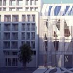 Lakóház helyére épül látványos tanuszoda az V. kerületben