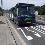 Brávó BKV! 110 millióba kerül egy 110 méteres buszsáv Budán