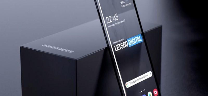 Teljesen átlátszó telefonnal jöhet ki a Samsung