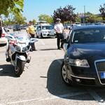 Egy nap alatt 124 közúti balesetnél intézkedett a rendőrség