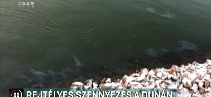 Olajszennyezés a Dunán: évek óta tudnak róla, mégsem tesznek ellene