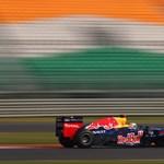 Vettel nem irgalmazott az indiai időmérőn