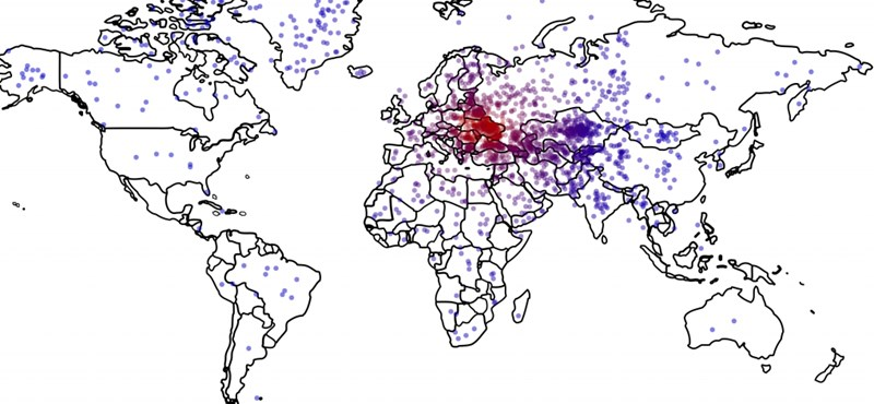 Térkép: Hova helyezi Ukrajnát a vaktérképen egy átlagos amerikai?