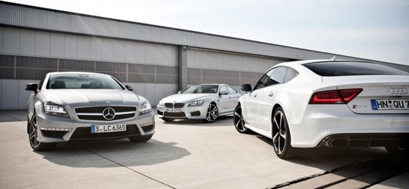 Audi, BMW, Mercedes: ki nyerte a 2017-es évet?