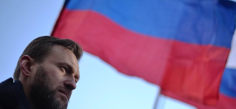 Tiltólistára tette a hatóság Putyin fő riválisának weboldalát egy új videó miatt