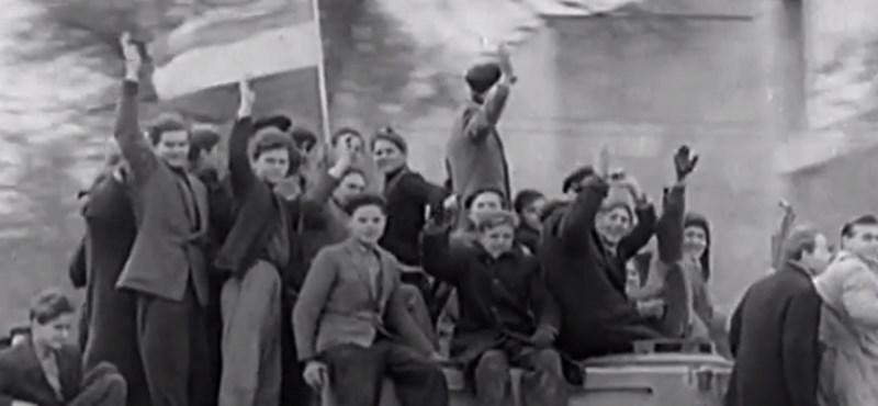 Videó: Így emlékezik meg a BBC az 1956-os forradalomról