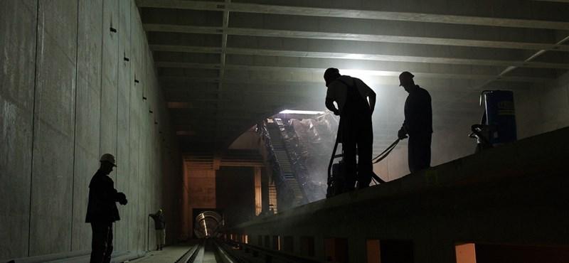 Már csak ezret kell aludni, és utazhatunk a 4-es metrón
