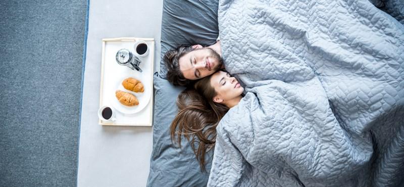 Ha a feleség boldog, máshogy alszanak a párok