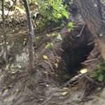 25 méter hosszú alagutat találtak a rendőrök Ásotthalomnál