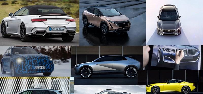Tíz autó, amit a legjobban várunk 2021-ben