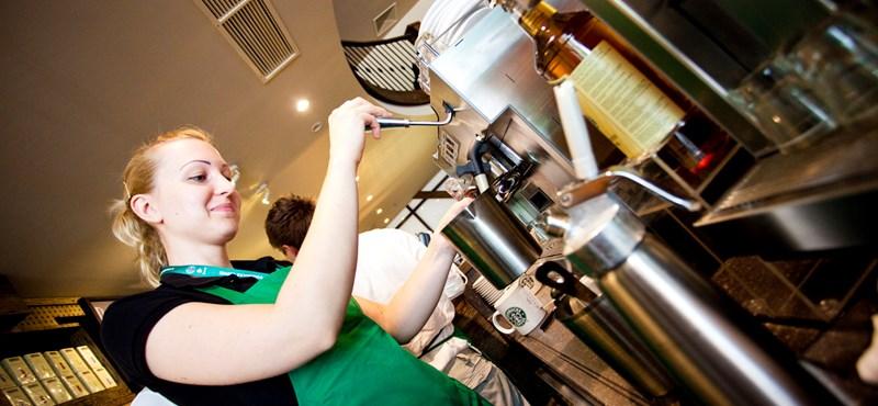 Újabb Starbucks nyílik, ezúttal a Bazilika mellett