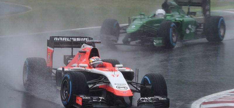 A Marussia kérhette Bianchitól, hogy taposson a gázra