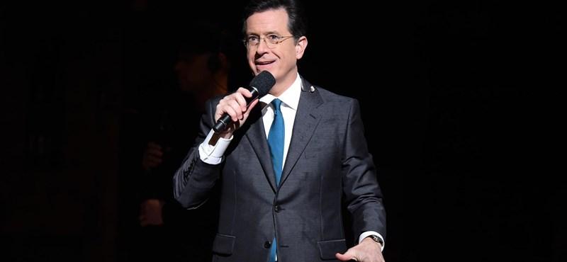 """Stephen Colbert: """"Semmi nem ad több hitelességet, mint ha Trump hazugnak nevez"""""""