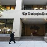 Miközben az újságírók cikken dolgoztak, Donald Trump kémkedett utánuk