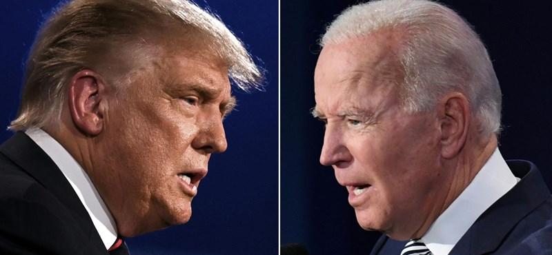 Biden tíz százalékponttal vezet Trump előtt