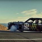 Így gyűri Ken Block az 1400 lóerős Mustangot – videó