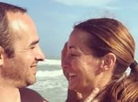 Benedek Tiborral közös képpel emlékezett Epres Panni a házassági évfordulójukról