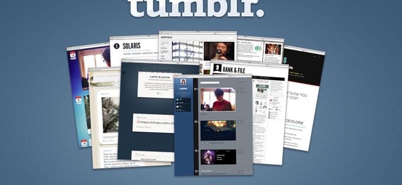 Órákra leáll majd a Tumblr