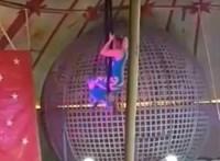 Lezuhant és súlyosan megsebesült egy budapesti cirkusz artistája Erdélyben