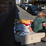 A rendőrség újra lecsapott, őrizetbe vettek egy hajléktalant